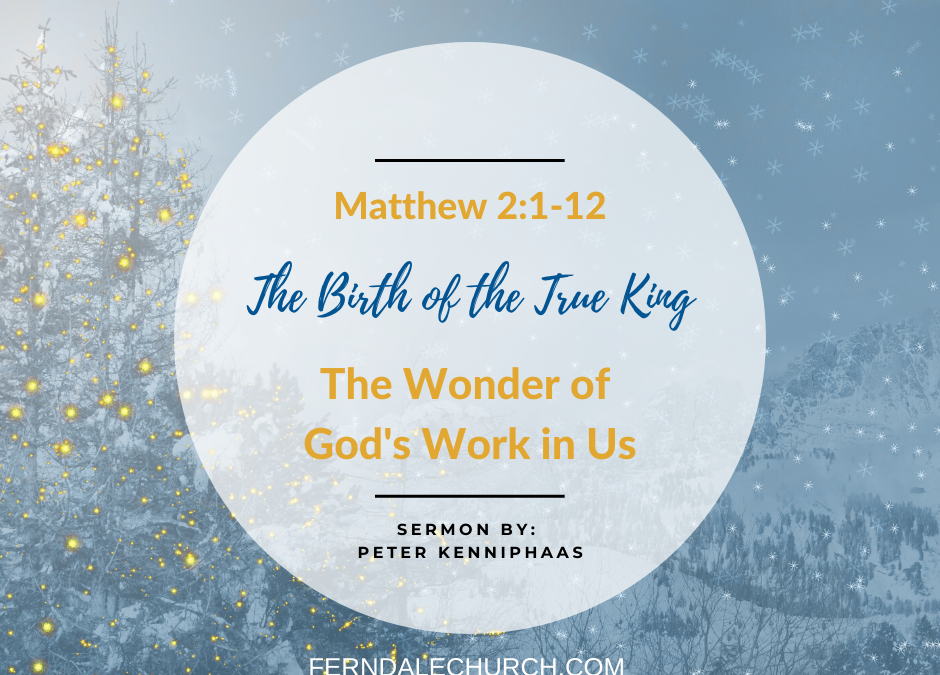 The Wonder of God's Work in Us